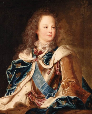 thePeerage.com - King Louis XV of Franceby Jean Baptiste Van Loo ...